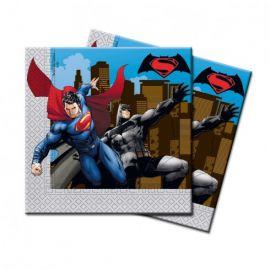 Servilletas Batman Superman