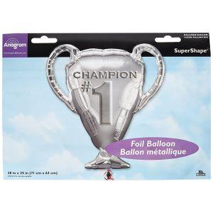 Globo helio trofeo champion