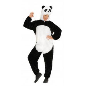 Disfraz oso panda peluche adulto