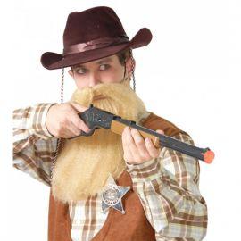 Sombrero vaquero flocado