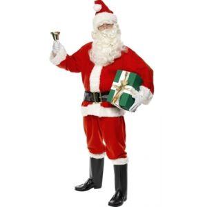 Disfraz Papá Noel adulto super deluxe