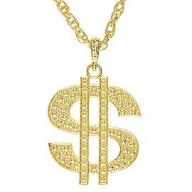 Collar dólar oro
