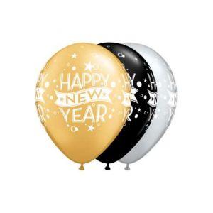 Globos happy new year 6 und