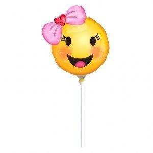 Globo mini emoticono sonrisa
