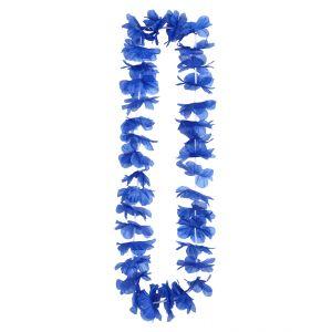 Collar hawaiano azul marino