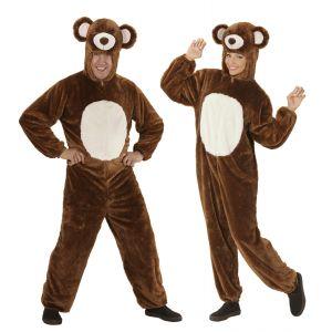 Disfraz oso peluche adulto