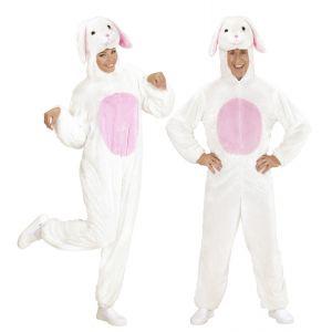 Disfraz conejo peluche adulto