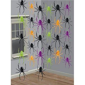 Arañas colgantes pack 6 unidades