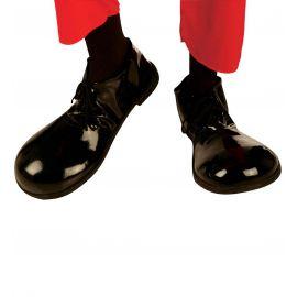 Zapatos w payaso negros suela goma