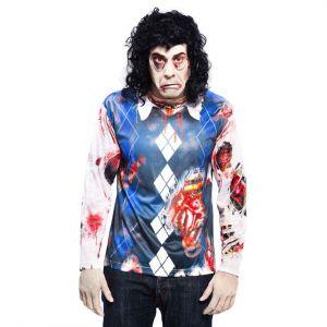 Camiseta zombie manga larga