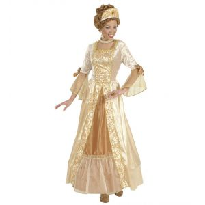 Disfraz w princesa dorada