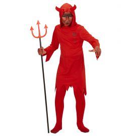 Disfraz w diablo tunica con capucha