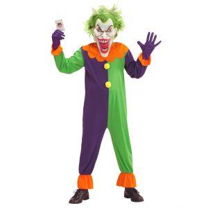Disfraz w joker maligno infantil