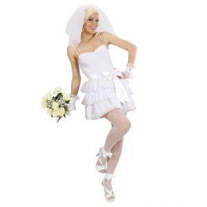 Disfraz novia sexy