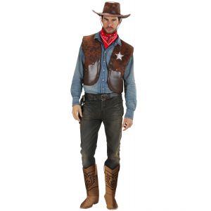 Cubrebotas cowboy
