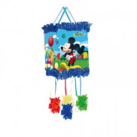 Piñata Mickey globos antifaz