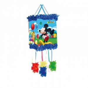 Piñata Mickey globos antifaz