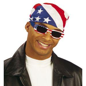 Pañuelo cabeza bandera americana