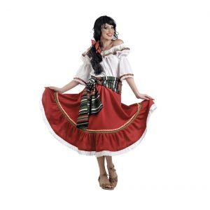 Disfraz mexicana adulto deluxe