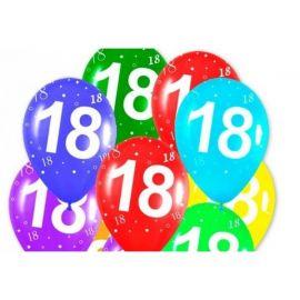Globos numero 18 12 und