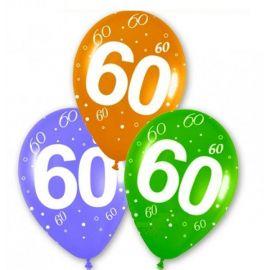 Globos numero 60 10 und