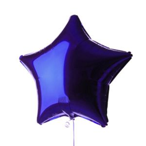 Globo helio estrella jumbo morada