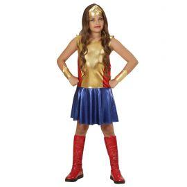 Disfraz super chica infantil