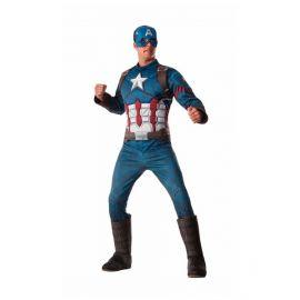 Disfraz capitan america musculos adt