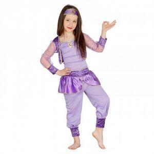 Disfraz bailarina oriental lila
