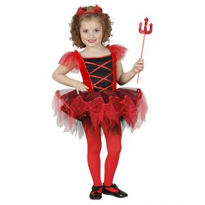 Disfraz hada diablesa infantil