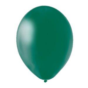Bolsa 50 globos verde selva solido