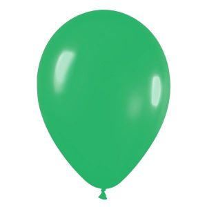 Bolsa 50 globos verde jade solido