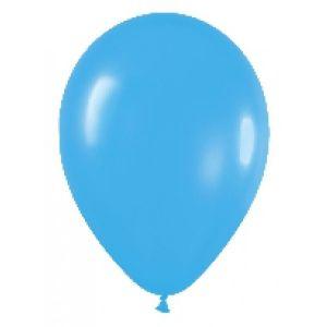 Bolsa 50 globos azul solido fashion