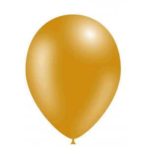 Bolsa 50 globos oro metal