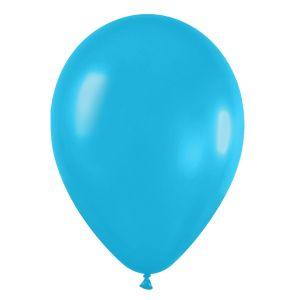 Bolsa 50 globos azul caribe