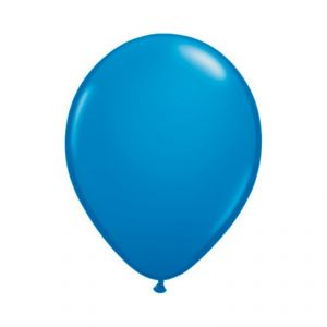 Bolsa 50 globos azul estandar