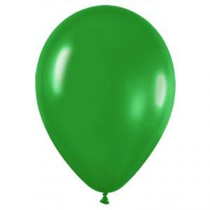 Bolsa globos verde solido