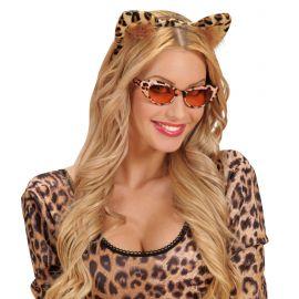 Diadema orejas leopardo