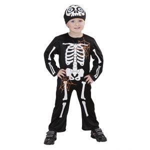 Disfraz esqueleto de 1a 3