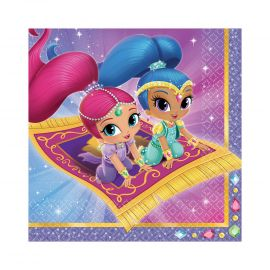 Servilletas shimmer and shine 16 und