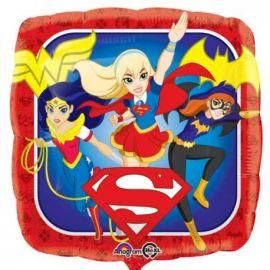 Globo helio super heros chicas