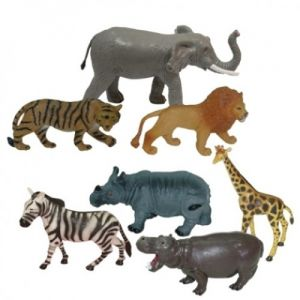 Animales jungla 8 unidades