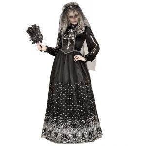 Disfraz esposa esqueleto