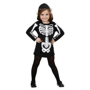 Disfraz esqueleto glamour
