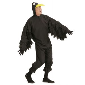 Disfraz cuervo adulto