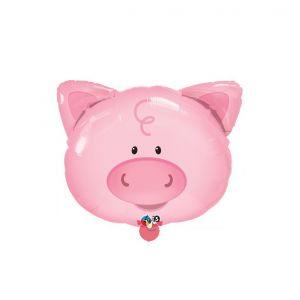 Globo helio cerdo
