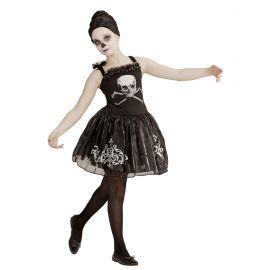 Disfraz bailarina huesos infantil