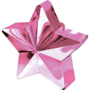 Peso saquito estrella rosa