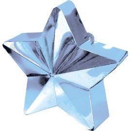 Peso saquito estrella azul claro