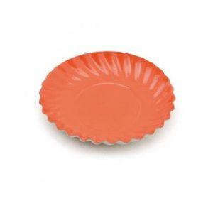 Platos postre naranjas